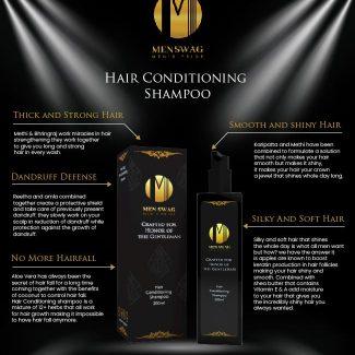 Men Swag Hair Shampoo: Benefits