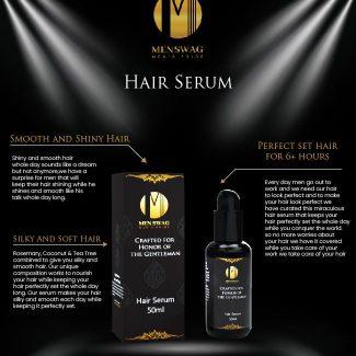 Men Swag Hair Serum: Benefits