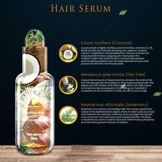 Men Swag Hair Serum: Ingredients