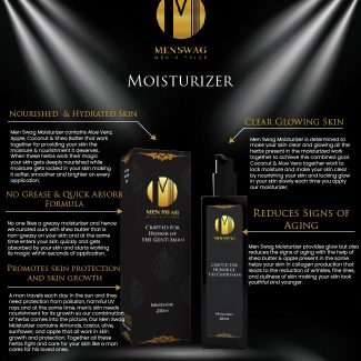 Men Swag Body Moisturizer: Benefits